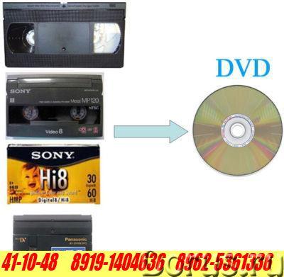 Оцифровка (перезапись) видеокассет на DVD, флешку, и т.д - Прочие услуги - Перезапись (оцифровка) лю..., фото 2
