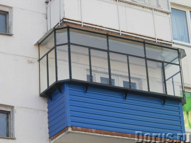 Балконные рамы металлические, пластиковые - Строительные услуги - Предприятие изготовит и установит..., фото 4